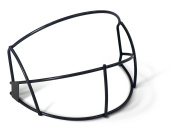 RIP-IT Softball Face Guard with Blackout Technology