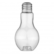 Sumen New Clear Light Bulb Shape Plant Flower Vase Hydroponic Container Bottle