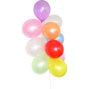 KINGZHUO 100pcs Latex Balloons For Wedding Party Birthday Indoor and Outside Decorations Random Mix Colours