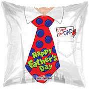 46cm HAPPY FATHER'S DAY TIE 5CT