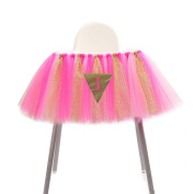 Mydio 1st Birthday Party Supplies Cute Baby Shower Decoration,Table Skirt For Party Supplies