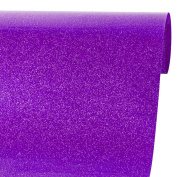 Ruspepa 50cm X 30cm Glitter Flake Heat Transfer Vinyl Roll for T-shirt, Garments Bags and Other Fabrics