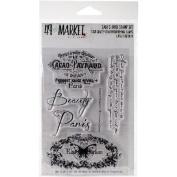 49 & Market Clear Stamps 10cm x 15cm -Gabi's Label