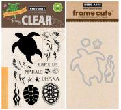 Hero Arts Colour Layering Sea Turtle - Stamp and Die Set