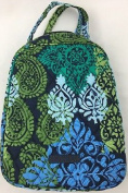 Vera Bradley Lunch Bunch Caribbean Sea, Reusable Lunch Bag, Snack Pack