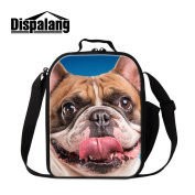 Dispalang Cute Aniaml Print Insulated Lunch Bags for Kids Unique Small Cooler Bags Adults