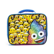 Emoji Full of Emoji Blue Insulated Lunch Kit