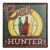 KISSMYTWINS Beer Tin Sign Vintage Metal Plaque Poster Bar Pub Home Wall Decor