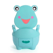 BonBon Lovely Character Frog Shaped Baby's Potties Unisex Kids' Training Urinal Toilet
