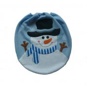 Toilet Cover, Rukiwa Christmas Decoration Christmas Snowman Single Lid