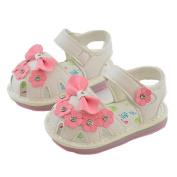 Ec Baby Children Bowknot Shoes Girl Flower Shoes Princess Fashion Single Shoes