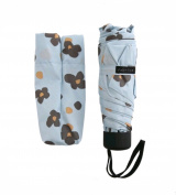The Fabrica Designer's Compact Umbrella, Portable Mini Size For Travel, Office, Camping, Gardening And Outdoor, Lightweight For Kids, With Gift Package And A Message Card