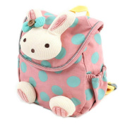 Toddler Cartoon Rabbit Backpack Safety Harness Leash Anti-lost Girl Bag