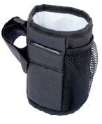 Skyseen Baby Stroller Parent Cup Holder,Black