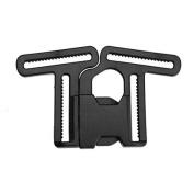 Blue ELF 4 Point Harness Lock Buckle Clip Hook for Stroller Pram Seat Safety Belts Strap