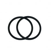 Topind 7.6cm Large Size Aluminium Baby Sling Rings for Baby Carriers & Slings of 2 pcs