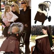 Hiltow Baby Comfort Stroller Weather Shield / Waterproof Stroller Warm Blanket Cover fit winter