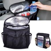 beler Universal Car Truck Seat Back Organiser Holder Multi-Pocket Travel Storage Bag Pouch