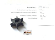 IMPELLER Pump 6E0-44352 47-96305M fit Yamaha Outboard F 4HP 5HP Mariner 18-3073