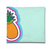 Pineapple Cartoon Colourful Images Throw Pillows Case Plastic Pillow Covers With Zipper
