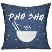 Pho Sho Casual Pillow Living Room 18 18 Decorative Cushion Cover Pillow