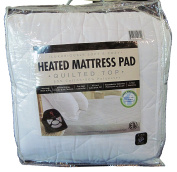 Quilted Top Heated Mattress Pad, King