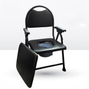 Cqq Bath chair Sitting in the chair Elderly pregnant women elderly mobile toilet Folding chair chair Bath chair