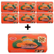 Asantee Papaya Soap, Herbal Skin Whitening Soap 135g