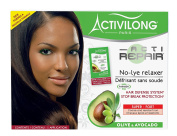 Activitoy Long Acti Repair No-Lye Relaxer Organic Olive & Avocado Fort Super Coarse and Resistant Hair
