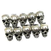 ULTNICE Skull Spacer Beads for DIY Necklace Bracelets and Earrings
