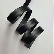 10MM Synthetic leather bias tape Price Per 6 Yards in Black