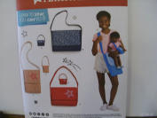 Simplicity Pattern #8400 American Girl Bags for Child and Bags for 46cm Doll