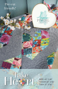 Take Heart Quilt Pattern by Angela Pingel Designs - 3 sizes