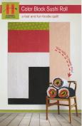 Hunter's Design Studio Colour Block Sushi Roll Quilt Pattern