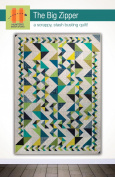 Hunter's Design Studio The Big Zipper Quilt Pattern