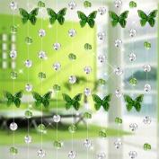 Fabal Crystal Glass Bead Curtain Luxury Living Room Bedroom Window Door Wedding Decor