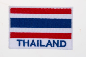 National flag of Thailand Embroidery Needlecraft Decor by sewing or ironing