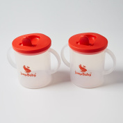 Jump Baby® The Big Sipper - 270ml flip spout beaker. First follow on sippy cup