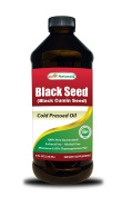 Best Naturals Black Seed Oil 240ml - Cold Pressed Black Cumin Seed Oil from 100% Genuine Nigella Sativa