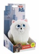 The Secret Life Of Pets - Soft Plush Toy Keychain Keyclip in Gift Box - Gidget the Pomeranian Dog