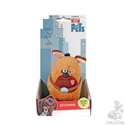 The Secret Life Of Pets - Soft Plush Toy Keychain Keyclip in Gift Box - Mel the Pug Dog