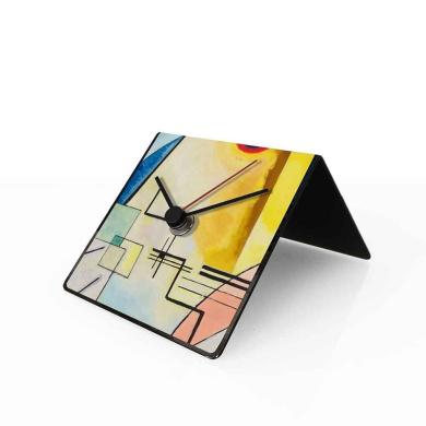 designobject Table Clock Perpetual Calendar Art Kandinsky 10 x 10 x 10 cm