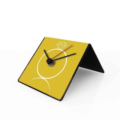 designobject Table Clock Perpetual Calendar Grossman 10 x 10 x 10 cm