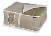 Domopak Under Bed Storage, Brown/Grey, 55 x 45 x 25 cm