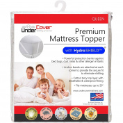 UnderCover Premium Mattress Topper Protector with Hydro Shield, Queen
