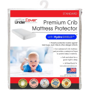 UnderCover Mattress Protector 100% Waterproof, Hypoallergenic Premium Fitted Cotton Terry Cover, Crib