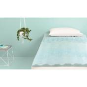 Room Essentials 3.8cm Foam Mattress Topper - Blue - Twin XL