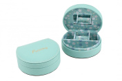 Willow and Rose Teal Blue Precious Jewellery Box
