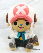 One Piece Film Gold Ver, White Tony Chopper Authentic Stuffed Plush Doll 25cm