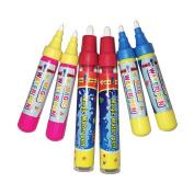 Magic Replacement Water Pen,Add Water Pen(6PCS)For Magic Doodle Mat